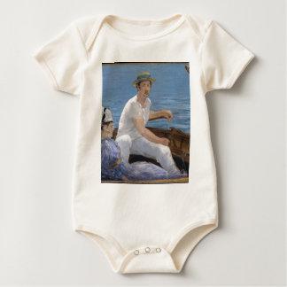Body Para Bebé Canotaje - Édouard Manet