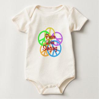 Body Para Bebé Canto del amor de la paz