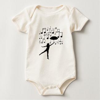 Body Para Bebé Canto en la lluvia