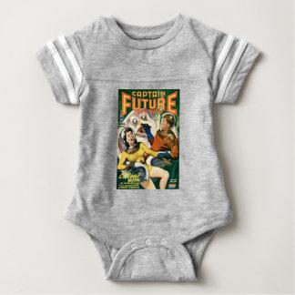 Body Para Bebé Capitán Future y la luna mágica