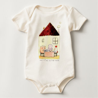 Body Para Bebé Capo de Rosalinde orgánico