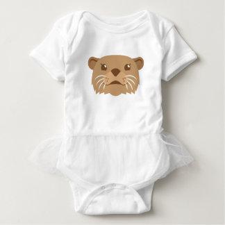 Body Para Bebé cara de la nutria
