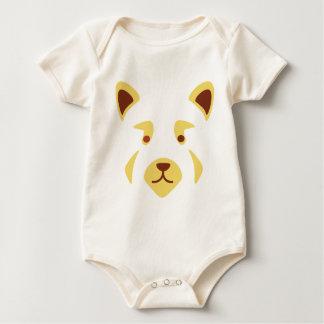 Body Para Bebé Cara de la panda roja