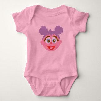 Body Para Bebé Cara grande de Abby Cadabby del bebé