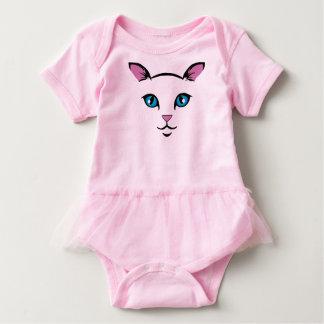 Body Para Bebé cara linda del gato