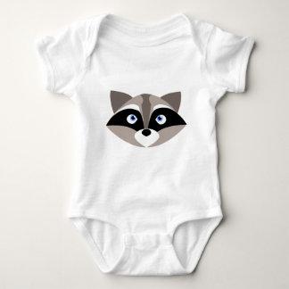 Body Para Bebé Cara linda del mapache