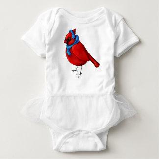 Body Para Bebé Cardenal del invierno