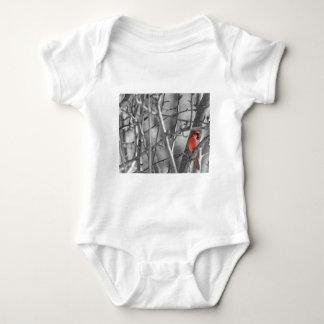 Body Para Bebé Cardenal en un árbol