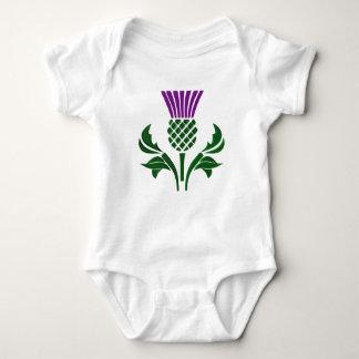 Body Para Bebé Cardo escocés del emblema