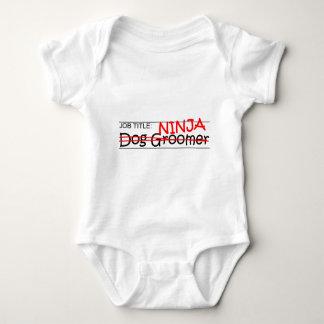 Body Para Bebé Cargo Ninja - Groomer del perro