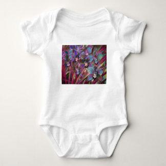Body Para Bebé Carnaval de la orquídea del Cymbidium