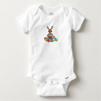 Body Para Bebé Caza del huevo del conejito de pascua