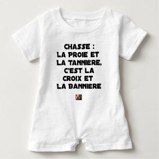 Body Para Bebé Caza: La Presa y la Guarida, es la Cruz