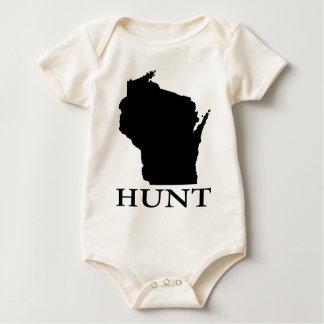Body Para Bebé Caza Wisconsin