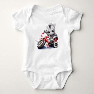 Body Para Bebé Cebra en el triciclo Onsie