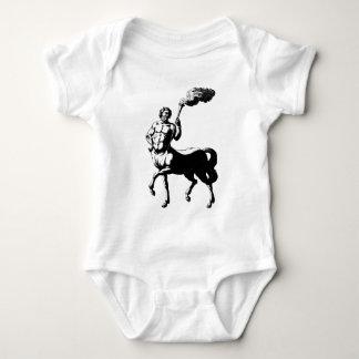 Body Para Bebé Centaur que sostiene la antorcha