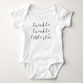 Body Para Bebé centelleo del centelleo de la cita del mono del