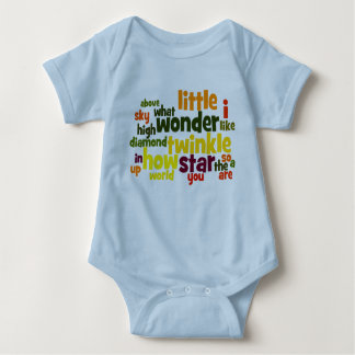 Body Para Bebé Centelleo del centelleo poca enredadera del niño