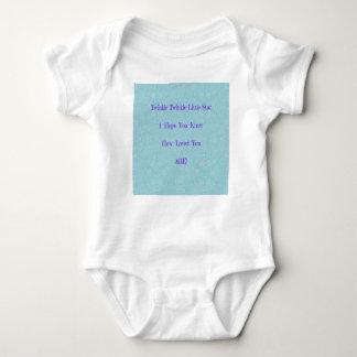 Body Para Bebé Centelleo del centelleo pocos regalos del bebé de