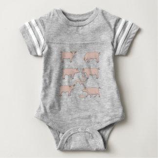 Body Para Bebé cerdos