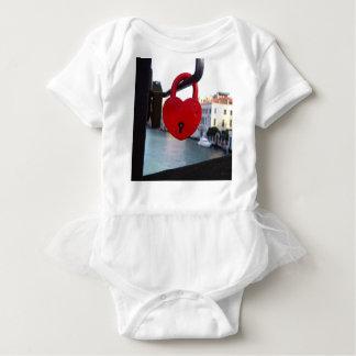 Body Para Bebé cerradura del amor en Venecia