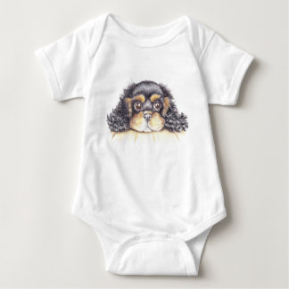 Body Para Bebé Chaleco del bebé con el perrito máximo los