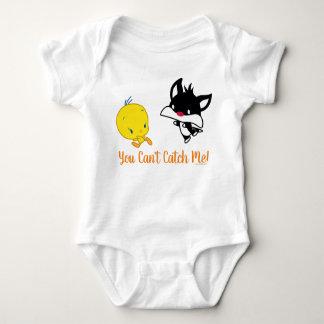 Body Para Bebé Chibi SYLVESTER™ que persigue TWEETY™
