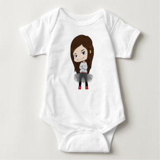Body Para Bebé Chica de moda - mono del bebé - el hacer juego de