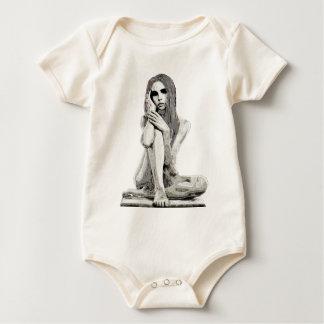 Body Para Bebé Chica de piedra