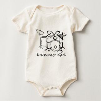 Body Para Bebé Chica del batería