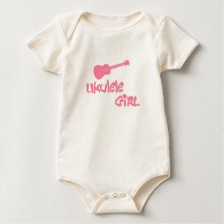 Body Para Bebé Chica del Ukulele