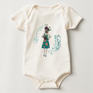 Body Para Bebé Chica en la alergia de Gasmask