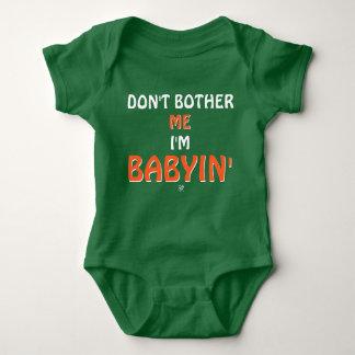 Body Para Bebé Chiste sobre las rabietas de bebés