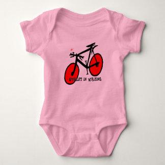 Body Para Bebé Ciclista en esperar la enredadera infantil