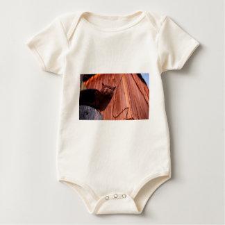 Body Para Bebé Cifre el rojo