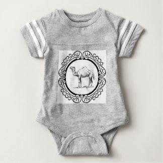 Body Para Bebé círculo del camello