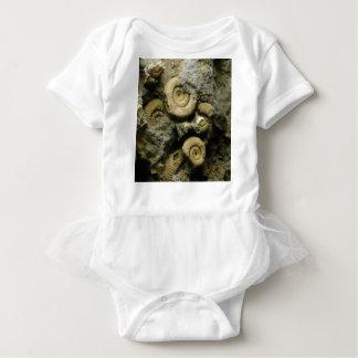 Body Para Bebé círculos de caracoles fósiles