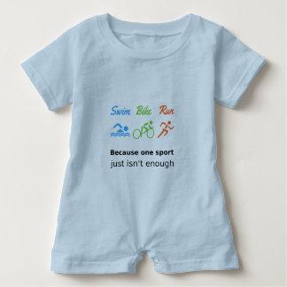 Body Para Bebé Cita de los deportes del funcionamiento de la bici