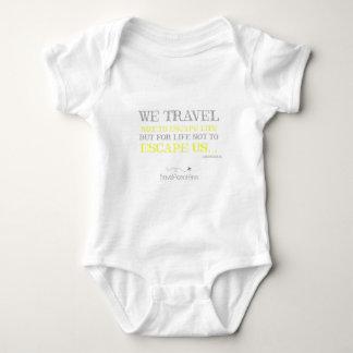 Body Para Bebé Cita del viaje