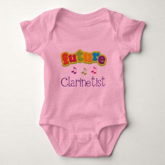 Body Para Bebé Clarinetist (futuro)