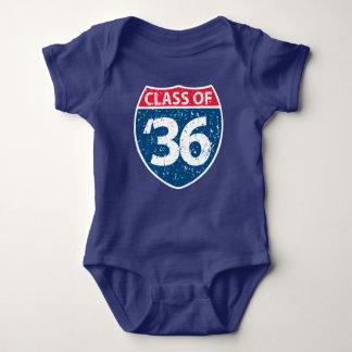 Body Para Bebé Clase de la una pieza 2036 del bebé