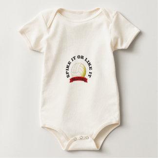 Body Para Bebé clávelo y tenga gusto de él voleibol