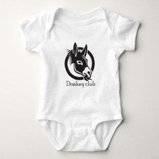 Body Para Bebé Club del burro
