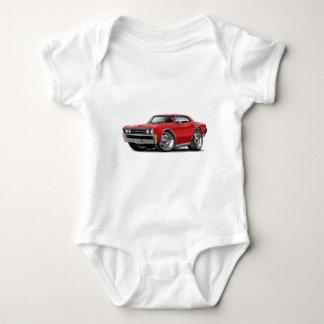 Body Para Bebé Coche 1967 del rojo de Chevelle