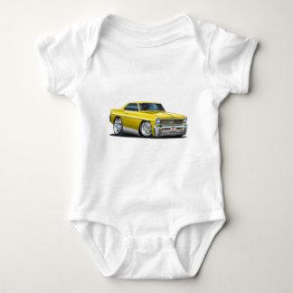 Body Para Bebé Coche amarillo 1966-67 de Nova