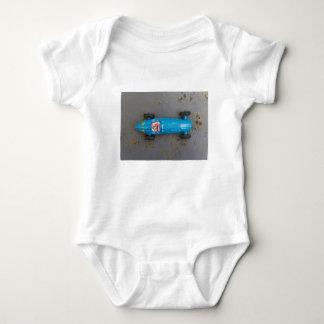 Body Para Bebé Coche azul del juguete