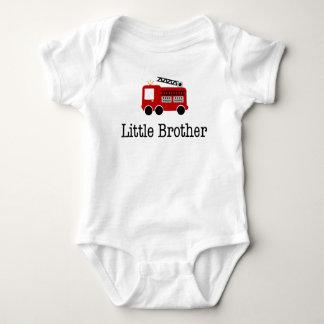 Body Para Bebé Coche de bomberos de pequeño Brother