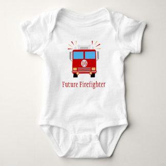 Body Para Bebé Coche de bomberos futuro del bombero el |