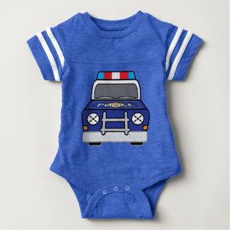 Body Para Bebé Coche patrulla azul intrépido de la policía
