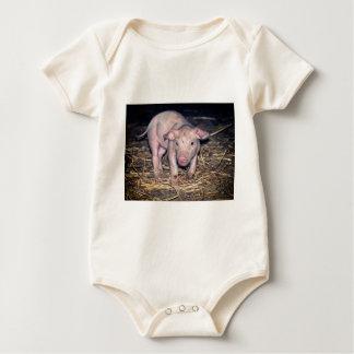 Body Para Bebé Cochinillo sucio